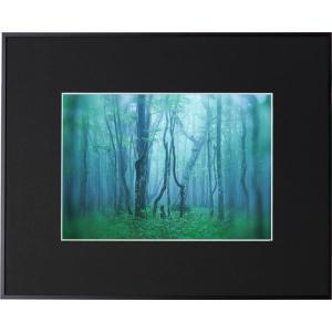 ケンコートキナー 写真額縁 ギャラリー A4 ブラック フォトフレーム