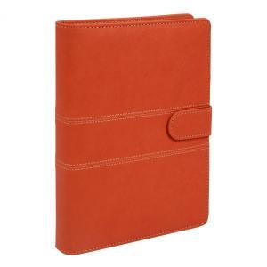 A5 定番ステッチ柄  ビジネス手帳 ビタミンオレンジ スターターセット