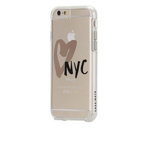 iPhone6s/6 ケース Naked Tough Designers Print Case NewYork City,  I Heart NYC|monocase-store