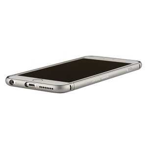 iPhone6s/6 ケース クリスタルアーマー METAL BUMPER SPACE GREY|monocase-store