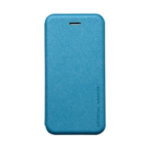 iPhone6s Plus/6 Plus ケース 手帳型クラムシェルケース Zara Blue|monocase-store