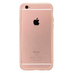 iPhone6s/6 ケース クリスタルアーマー METAL BUMPER ROSE GOLD|monocase-store
