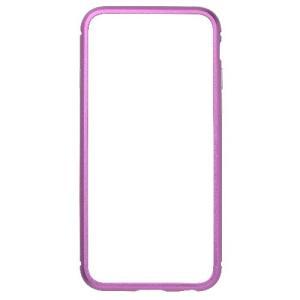 iPhone6s/6 ケース クリスタルアーマー METAL BUMPER PURPLE|monocase-store
