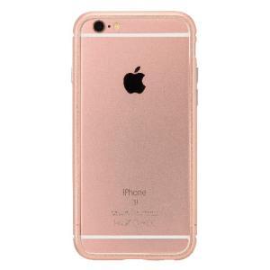 iPhone6s Plus/6 Plus ケース クリスタルアーマー METAL BUMPER ROSE GOLD|monocase-store