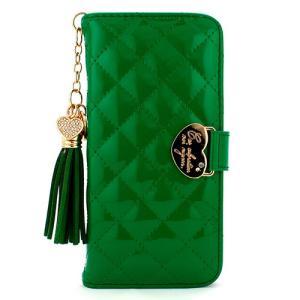 iPhone6s/6 ケース Mignon Case エナメル グリーン|monocase-store