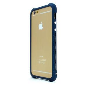 iPhone6s/6 ケース Ferr Aluminum Bumper スワロフスキーアルミバンパー ネイビー|monocase-store