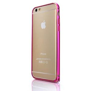 iPhone6s/6 ケース Airbumper アルミバンパー ホットピンク|monocase-store