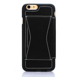 iPhone6s/6 ケース 3way X cover 右開き、左開き、手帳型ケースタイプに切り替え可能 ブラック|monocase-store