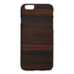 iPhone6s Plus/6 Plus ケース 木製 ウッドケース ブラック おしゃれ 天然木 Ebony ブラックフレーム|monocase-store