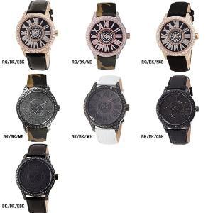 腕時計 メンズ スワロフスキー ジルコニア ゴールド ブラック 日本製 クォーツ FACEAWARD DIAZ-S|monocase-store
