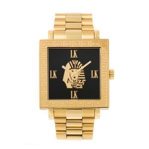 腕時計 スワロフスキー キュービックジルコニア FACEAWARD 爪止め LASTKINGS XXD002 LK/MET|monocase-store