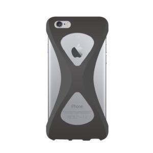 iPhone6s/6 ケース パルモ 落下防止 軽量 高品質シリコン 耐衝撃 吸収 片手操作 ポケモンGO 最適 Palmo Black|monocase-store