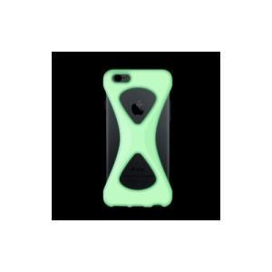 iPhone6s/6 ケース パルモ 落下防止 軽量 高品質シリコン 耐衝撃 吸収 片手操作 ポケモンGO 最適 Palmo GiD(蛍光)|monocase-store