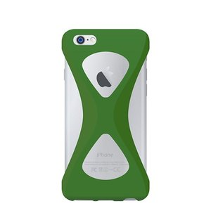 iPhone6s/6 ケース Palmo 落下防止シリコンケース Green|monocase-store