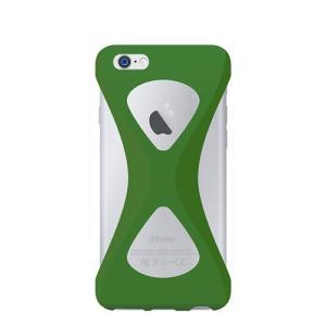 iPhone6s Plus/6 Plus ケース Palmo 落下防止シリコンケース Green|monocase-store