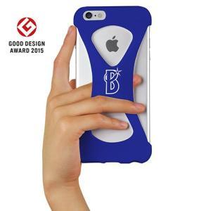 iPhone6s Plus/6 Plus ケース Palmo x BAYSTARS 公式モデル 落下防止シリコンケース Blue|monocase-store
