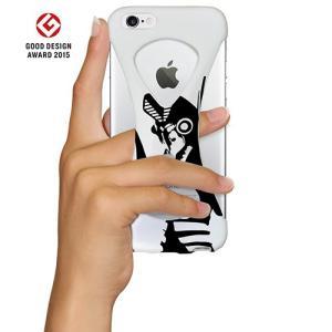 iPhone6s/6 ケース Palmo x Ultraman ウルトラマン公式モデル 落下防止シリコンケース White バルタン ver.|monocase-store