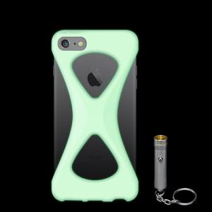 iPhone8/7 ケース アイフォン8ケース パルモ 落下防止 軽量 高品質シリコン 耐衝撃 吸収 片手操作 ポケモンGO 最適 Palmo GiD(蛍光)|monocase-store