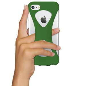 iPhone8/7 ケース アイフォン8ケース パルモ 落下防止 軽量 高品質シリコン 耐衝撃 吸収 片手操作 ポケモンGO 最適 Palmo Green|monocase-store