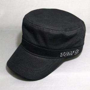 TOM'S トムス ワークキャップ ブラック (08298-TO296)|monocolle