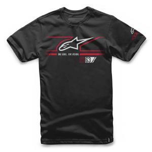 alpinestars アルパインスターズ FAST STAR TEE Tシャツ ブラック(1016-72032)|monocolle