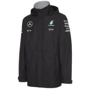 MERCEDES AMG ペトロナス F1 TEAM 2016 レインジャケット ブラック (141161005-100) monocolle