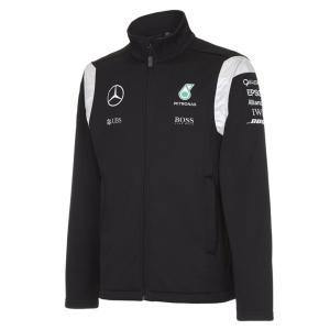 MERCEDES AMG ペトロナス F1 TEAM 2016 ソフトシェルジャケット ブラック (141161014-100) monocolle