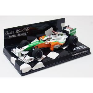 FORCE INDIA フォースインディア F1 2010 SHOWCAR エイドリアン・スーティル 1/43 ミニチャンプス モデルカー (400-100084)|monocolle
