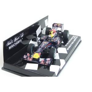 Red Bull Racing Renault RB6 AbuDhabi GP 2010 World CHAMPION S.ベッテル 1/43 ミニチャンプス モデルカー PMA (410-100105)|monocolle