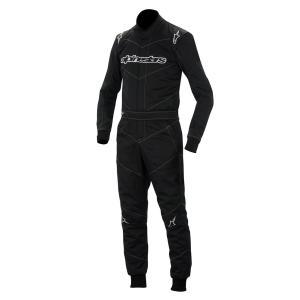 アウトレット!2014〜16モデル アルパインスターズ GP START SUIT BLACK 10 (ジーピー・スタート)レーシングスーツ FIA8856-2000公認モデル|monocolle