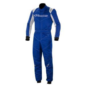 アウトレット!2014〜16モデル アルパインスターズ GP START SUIT BLUE SILVER 719 (ジーピー・スタート)レーシングスーツ FIA8856-2000公認モデル|monocolle