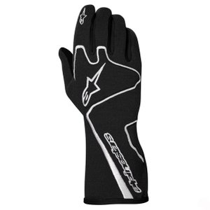 アウトレットセール!2013〜15モデル アルパインスターズ レーシンググローブ TECH1-RACE ブラック×ホワイト(12) FIA8856-2000公認モデル|monocolle