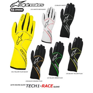 2017NEWモデル アルパインスターズ レーシンググローブ TECH1-RACE FIA8856-2000公認モデル (3551017)|monocolle