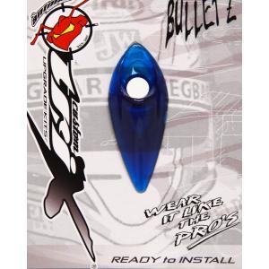 ANTMAN CUSTOM BULLETZ クリアー ヘルメットダクト BULE(ブルー)|monocolle