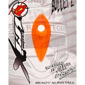 ANTMAN CUSTOM BULLETZ クリアー ヘルメットダクト NEON ORANGE(ネオンオレンジ)|monocolle
