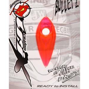 ANTMAN CUSTOM BULLETZ クリアー ヘルメットダクト NEON PINK(ネオンピンク)|monocolle