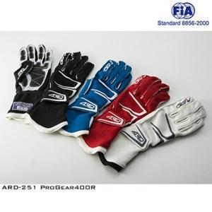 ARD レーシンググローブ ARD-251 Progear400R 外縫い仕様 FIA公認8856-...