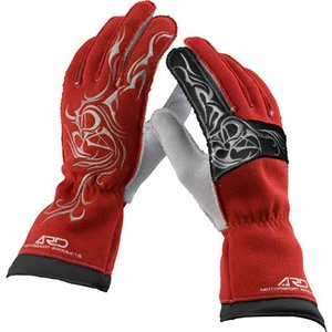 ARDレーシンググローブ ProRacer 300DR (ARD-272) ARD-272 レッド(RED) FIA公認8856-2000|monocolle