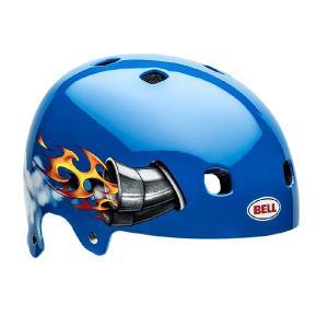BELL ベル Segment Jr (セグメントジュニア) ブルーニトロ キッズ・ジュニア・子供 自転車用 ヘルメット|monocolle