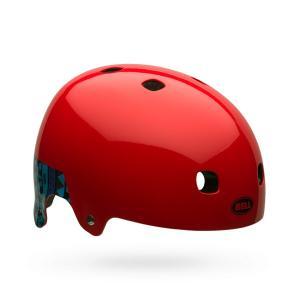 BELL ベル Segment Jr (セグメントジュニア) レッドポールフランクグラフィティ キッズ・ジュニア・子供 自転車用 ヘルメット|monocolle