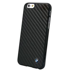 iPhone6 4.7インチ対応 BMW カーボン調 ハードケース ブラック (BM-HCP6MBC) monocolle