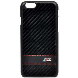 iPhone6 4.7インチ対応 BMW ソフトレザーハードケース ブラック (BM-HCP6MCC) monocolle