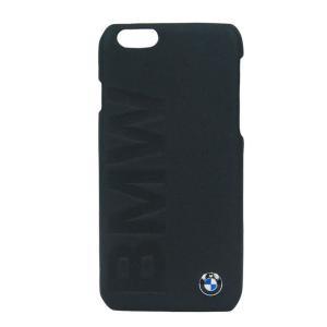 iPhone6 4.7インチ対応 BMW 本革フリップケース BMW Debossed Logo (BMHCP6LOB) monocolle