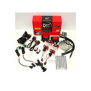 CATZ(キャズ)200系ハイエース専用 HIDヘッドライト フルキット フェザーホワイト 6000k CZHH51 専用ステー付き 受注生産品|monocolle