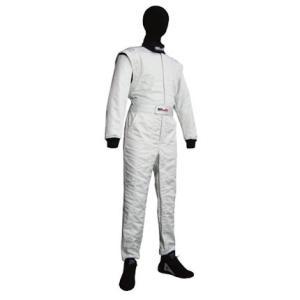 CLA レーシングスーツ SUPER PRO スーパープロ シャイニングホワイト (LE-110V)  FIA公認8856-2000 受注生産商品 monocolle