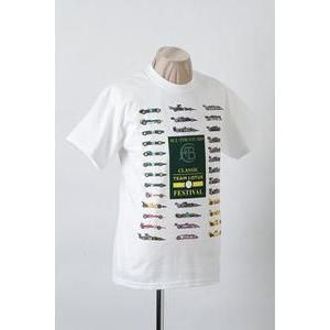 チームロータス TEAM LOTUS フェスティバル CTLフェス Tシャツ ホワイト (CTL-FES-TS01)|monocolle