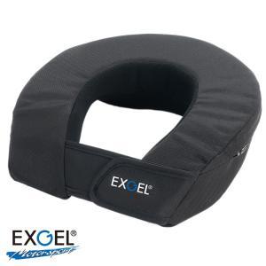 替えカバー EXGEL エクスジェル ネックサポート17M 大人用 替えカバー レーシングカート用 (AKK23M-BK-C)|monocolle