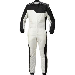 adidas(アディダス)レーシングスーツ RSR CLIMACOOL NOMEX SUIT WHITE/BLACK ホワイト/ブラック FIA8856-2000公認 本国取り寄せ商品|monocolle