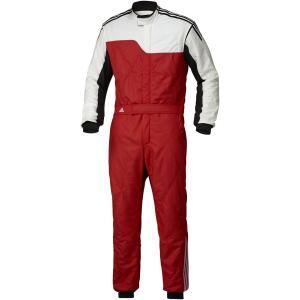 adidas(アディダス)レーシングスーツ RS CLIMACOOL NOMEX SUIT RED/WHITE レッド/ホワイト FIA8856-2000公認 本国取り寄せ商品|monocolle