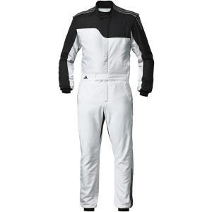 adidas(アディダス)レーシングスーツ RS CLIMACOOL NOMEX SUIT SILVER/BLACK シルバー/ブラック FIA8856-2000公認 本国取り寄せ商品|monocolle